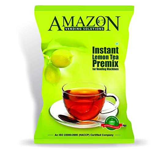 Amzn Instant Lemon Tea Premix 1 Kg Pack for Vending Machines