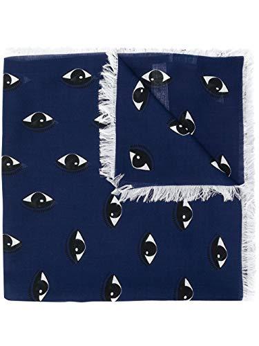 Kenzo Paris sjaal Multi Eyes Logo Scarf