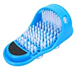Simple Feet Cleaner,Evermarket Magic Foot Scrubber,Exfoliating Easy Cleaning Brush,Feet Washer Shower Spa Massager Slippers