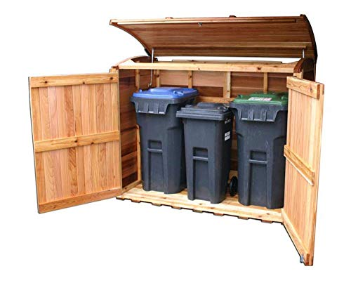 Outdoor Living Today 6'X3' Oscar Waste Management Shed