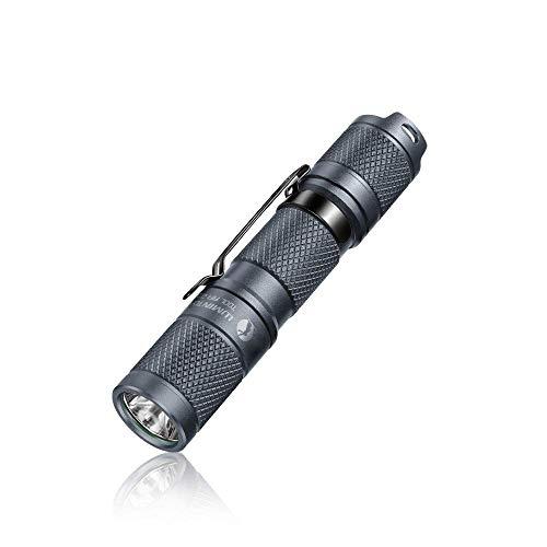 LED Taschenlampe Superhell 650 lm LUMINTOP TOOL AA Kleine Handlampe mit Cree XPL LED 5 Modi IP68 Wasserdicht 1 AA/14500 Batterie Betrieben Lampe für Alltag Outdoor Camping Wandern Notfall (Grau)