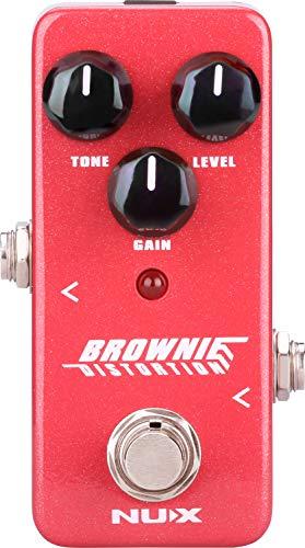 NUX | Brownie Distortion Pedal | Guitar Pedal
