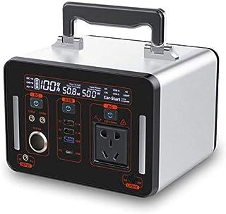 SOAR Generador Portátil Generador Inverter 135200mAh Power Station Camping Battery Pack de la fuente de alimentación de la fuente de alimentación con una toma de corriente de 500W, puertos múltiples p