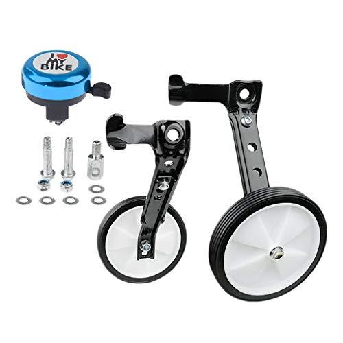 Amuzocity Anillo Ajustable del Estabilizador de La Rueda del Entrenamiento de La Bicicleta de Los Niños de 16-24
