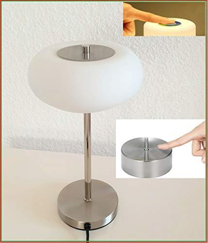 LED TOUCH Tischleuchte Schreibtischleuchte Bürolampe dimmbar Lampe Leuchte rund