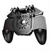 LAGAGO Six Finger Gamepad Triggers All-in-one Mobile Game Controller Gamepad Joystick Control for iOS Android Mobile Phone