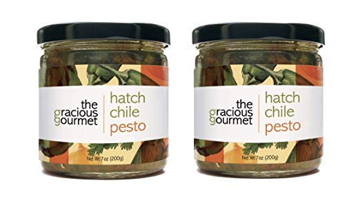 Hatch Chile Pesto by The Gracious Gourmet (2 pack), green