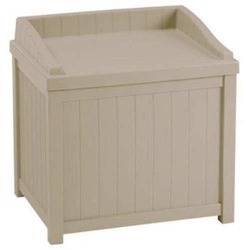 Suncast SSW1000 Winter Storage Box for Ice Melt/Sand/Salt Snow De-Icers