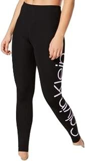 Calvin Klein Jumbo-Logo High-Waist Leggings Orchid Com XL