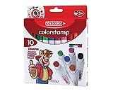 Fibracolor - colorstamp - 10 pennarelli stampini...