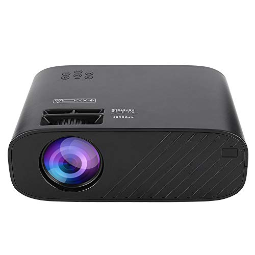 Bewinner1 HD 3D Bluetooth WiFi Home Theater Projector, ± 15 ° Keystone Correction Wireless Video Projector, 1280 x 720 LCD HDMI VGA Mini Portable WiFi Projector for Android, Best Gift(US)