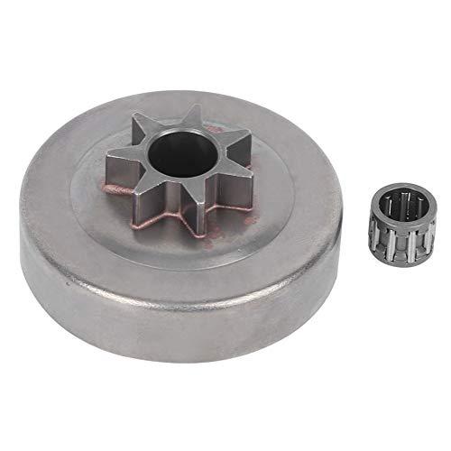 Tambor de embrague 7T + rodamiento de agujas de piñón, apto para Hus-qvarna 36 4113613714114235240 Material de aleación de motosierra