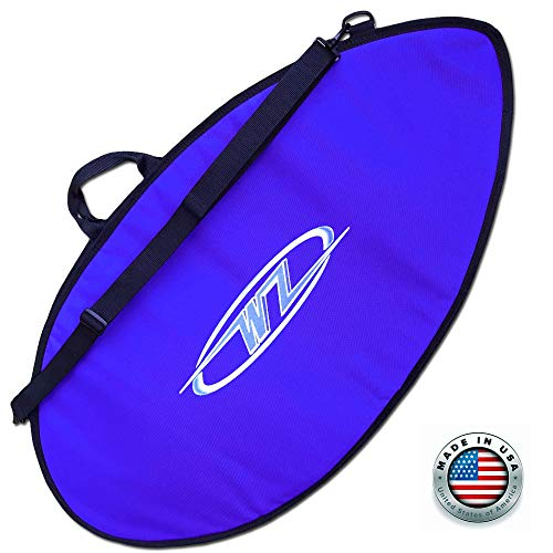 Wave Zone Skimboard Bag - Day or Travel Use - Blue - Made in The USA 3 Sizes (53)