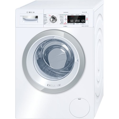Bosch Serie 8 WAW28690 – Waschmaschine mit Standfuß, 9 kg, 1379 U/min, A+++ Weiß – (freistehend, Ladung vorne, weiß, links, LED, 171°)