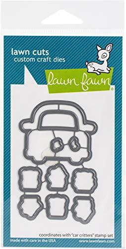 Lawn Fawn LF2339 Car Critters - Lawn Cuts Custom Craft Dies