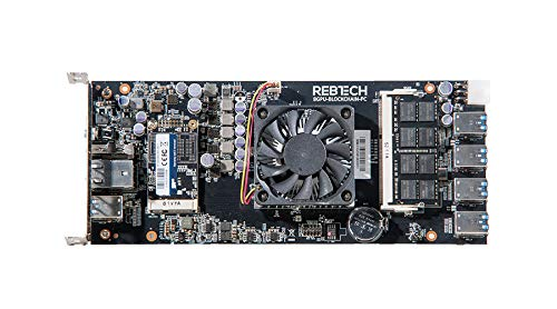 Rebtech Blockchain Motherboard Mining Motherboard for GPU Rigs Bitcoin Ethereum Mining