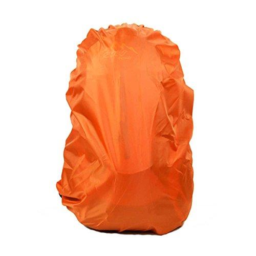 ruifu Durable Camping randonnée sac à dos imperméable Couverture de pluie étanche 40 l Orange Orange