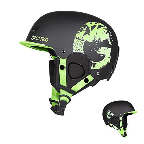 GROTTICO Ski-Snow Helmet for Men-Women-Youth-Kids - Snowboard Helmet Pass ASTM Certified Safety, 3 Sizes Options