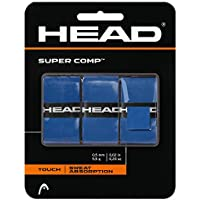 3-Pack Head Super Comp Tennis Racket Grip Tape