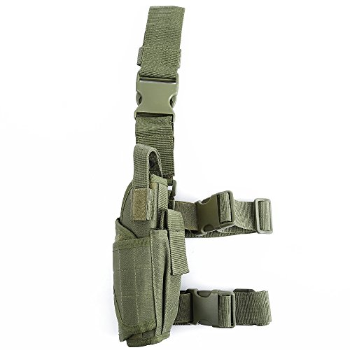 Mimicool Ajustable militar táctica de la pistolera de la cintura de la...