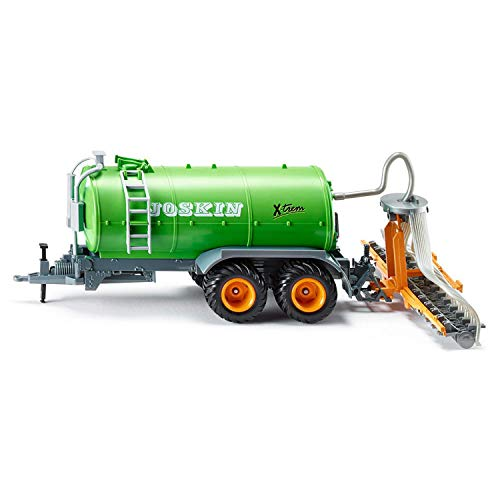 Siku 2270, Fasswagen, 1:32, Metall/Kunststoff, Abnehmbarer Schlauchverteiler, Bewegliche Teile, Grün