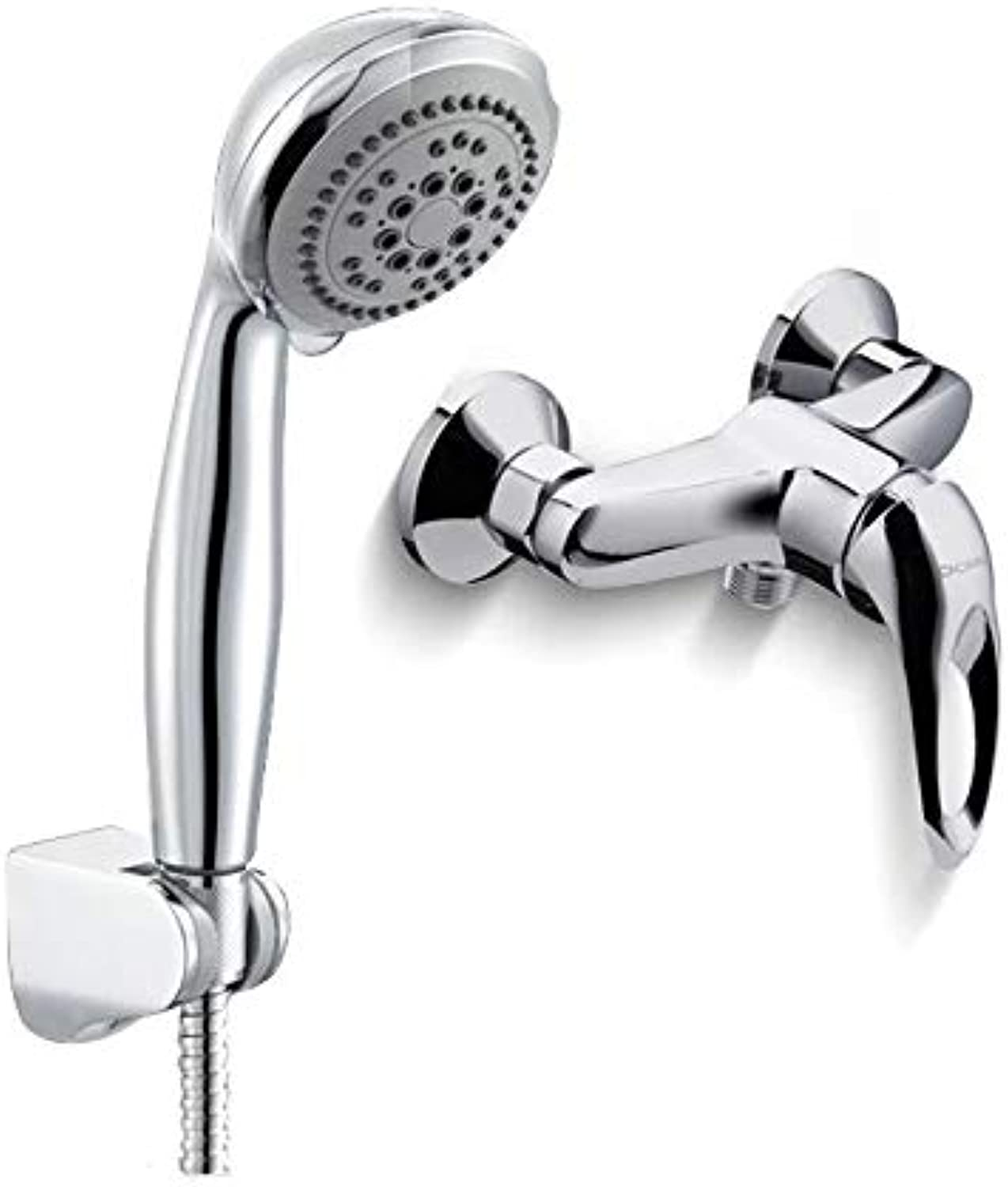 redOOY Showers Shower Mixing Valve Shower Simple Shower Mixing Valve Faucet Simple Handheld Nozzle