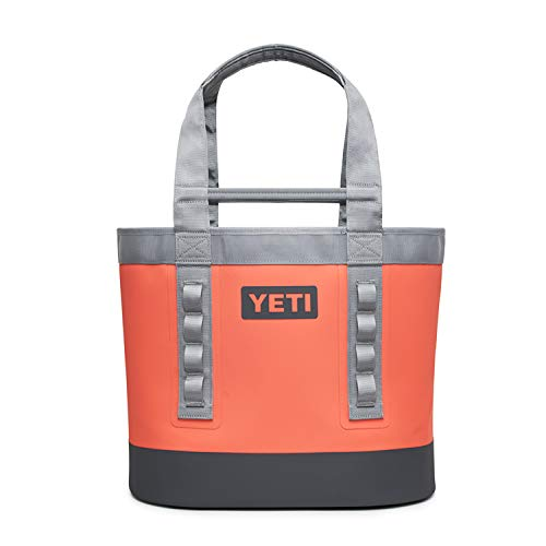 YETI Camino Carryall 35, All-Purpose Utility, Boat and Beach Tote Bag, Durable, Waterproof, Coral