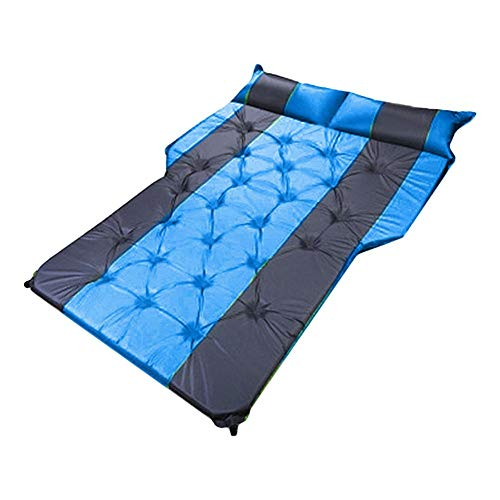 lembrd SUV Luchtmatras, auto, camping, luchtmatras, auto blow up bed, opblaasbare matras blauw
