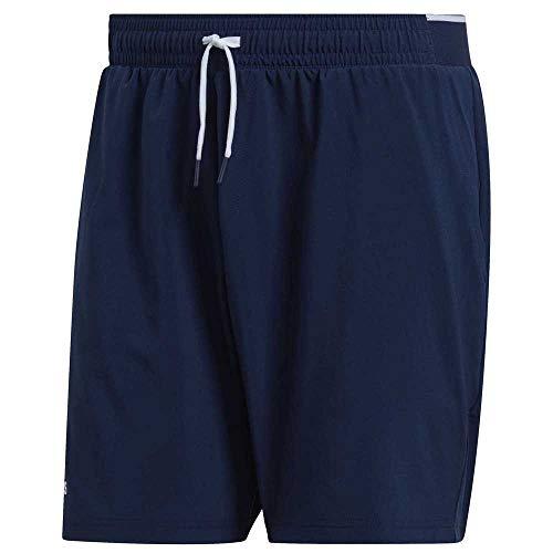 adidas Club Sw 7 Pantalón Corto de Tenis, Hombre, Maruni, S