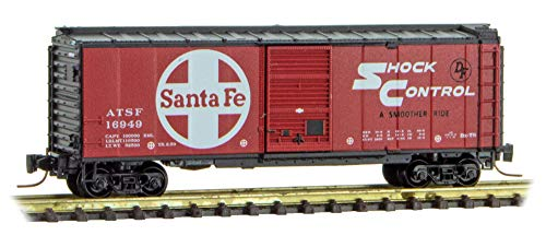 Micro-Trains MTL Z-Scale 40ft SD Box Car Atchison Topeka & Santa Fe/ATSF #16949