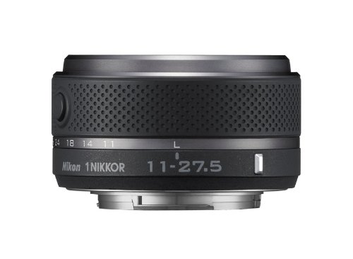 Nikon 1 Nikkor 11.0-27.5 mm - Objetivo para Nikon, Negro