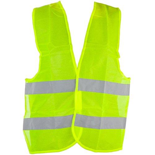 Unbekannt Warnweste EN471 gelb, knitterfrei, waschbar, Standardgröße