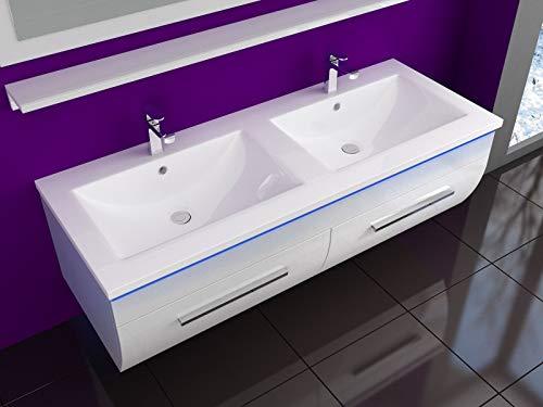 Badmöbel Set Waschbecken Spiegel Bild 3*