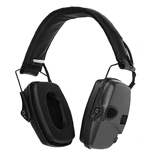 Hainice Protección auditiva electrónica Orejeras Anti-Ruido de los Auriculares del oído defensores de reducción de Ruido Auriculares Plegable para Hombres de Las Mujeres...
