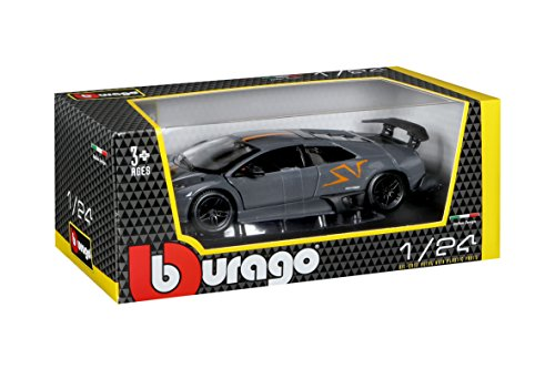Bburago - Murcielago LP 670-4 China Limited Edition, color plateado (18-22120)