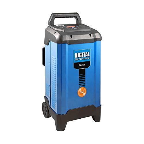 Güde Batterieladegerät Batterielader Autobatterie 12-24V mit Starthilfe 250A für Autobatterie
