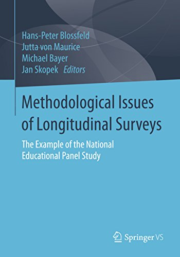 Methodological Issues of Longitudinal Surveys: The Example of the National Educational Panel Study (English Edition)