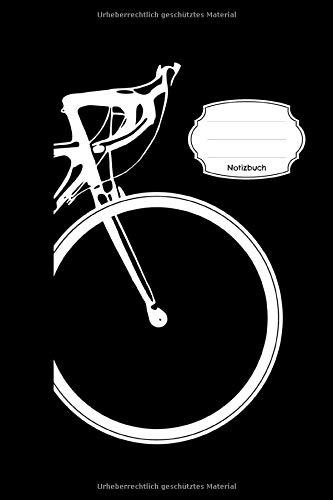 Notizbuch: Rennrad | Radsport Motiv mit Fahrrad | 108 Seite Karo | Geschenk für Fahrradfahrer als Tourplan | Tagebuch für die Radreise Radfahren | Logbuch Rennrad