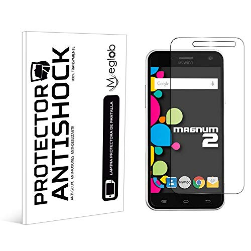 Protector de Pantalla Anti-Shock Anti-Golpe Anti-arañazos Compatible con MyWigo Magnum 2 Pro