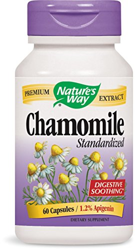Nature's Way Chamomile, 60 Capsules (Pack of 2)