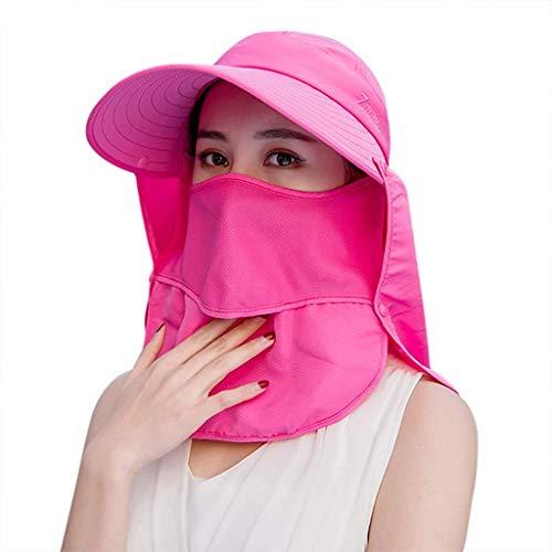 GUSTAVE Women Sun Wide Brim UV Protection Fishing Hat...