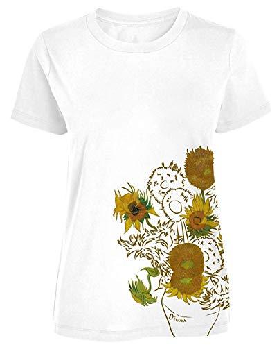 Vincent van Gogh - Girasoles - Camiseta Oficial Mujer