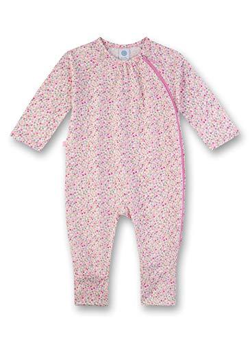 Sanetta Baby-Mädchen Strampler, Rosa (rosa 3813), 80 (Herstellergröße:080)