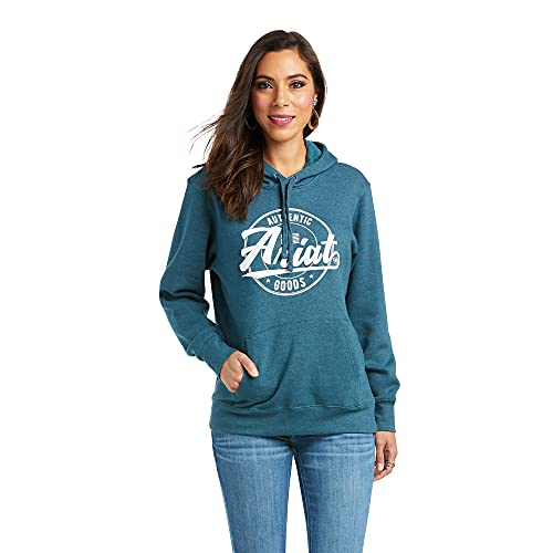REAL Arm Logo Hoodie Teal