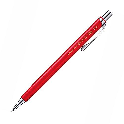 ぺんてる シャープペン オレンズ XPP502-B 0.2mmレッド