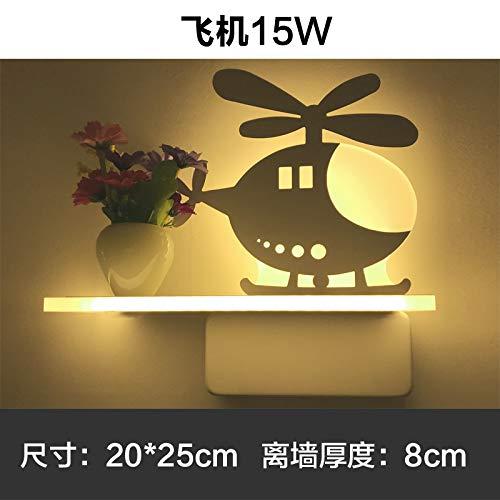 MJSM Light Wandlamp, ledverlichting, modern en minimalistisch, vaas met frisse wandlamp, voor in de gang, slaapkamer, romantische nachtlamp, balkon, wandlamp, hal