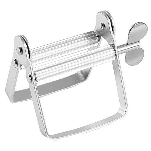 MINGZE Exprimidor de Tubos, Metal y Aluminio Selgado Tubo de Metal Metálico Tubo Exprimidor...