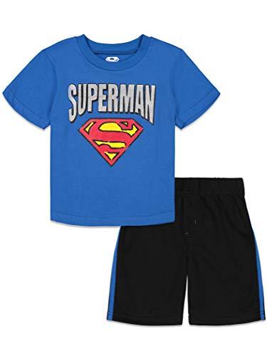 DC Comics Superman Toddler Boys T-Shirt and Mesh Shorts Set