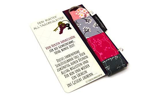 Lieblingsmanufaktur Abschiedsgeschenk für Erzieherin im Kindergarten – von Herzen Dankeschön – Schlüsselanhänger mit Karte & Botschaft – zum Abschied danke sagen – persönliches Geschenk für Erzieher