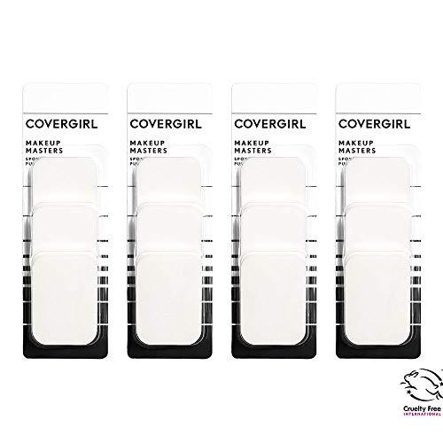 COVERGIRL Esponjas para maquiagem Masters, 3 esponjas, 4 unidades